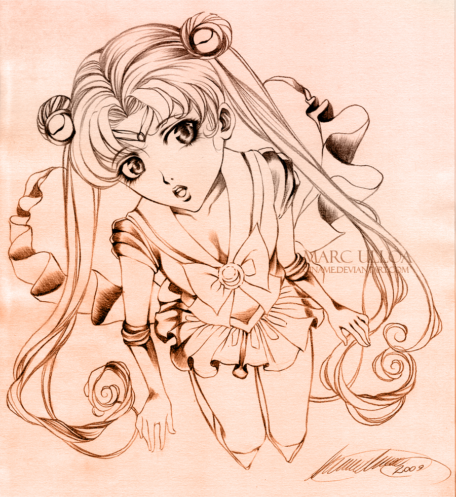 Sailor Moon Sketch By Giname On DeviantArt