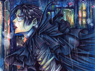 Ghost in the Rain by Giname