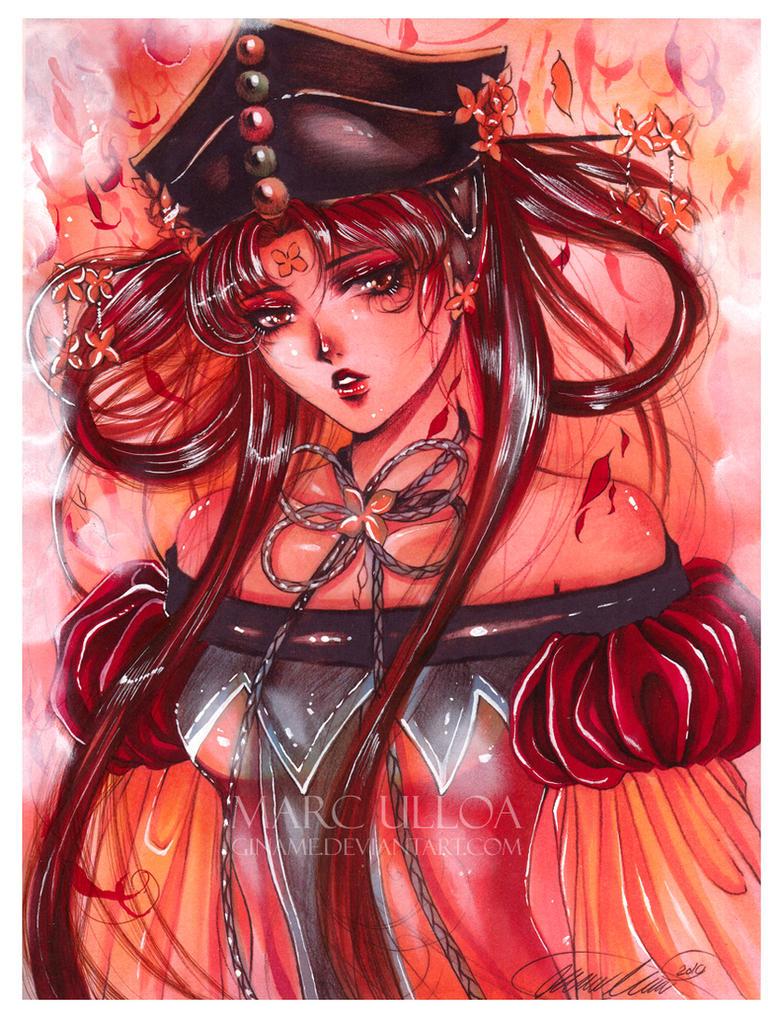 [Resim: Princess_Kakyuu__colored__by_Giname.jpg]