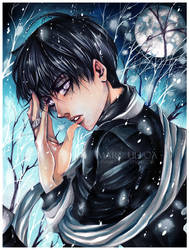 The Man Cold as Snow by Giname