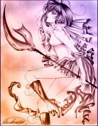 Sailor Saturn Sketch II by Giname