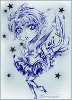Sailor Mercury Chibi :sketch: by Giname
