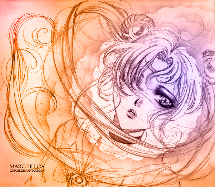 Sailor Moon -Sketch- by Giname