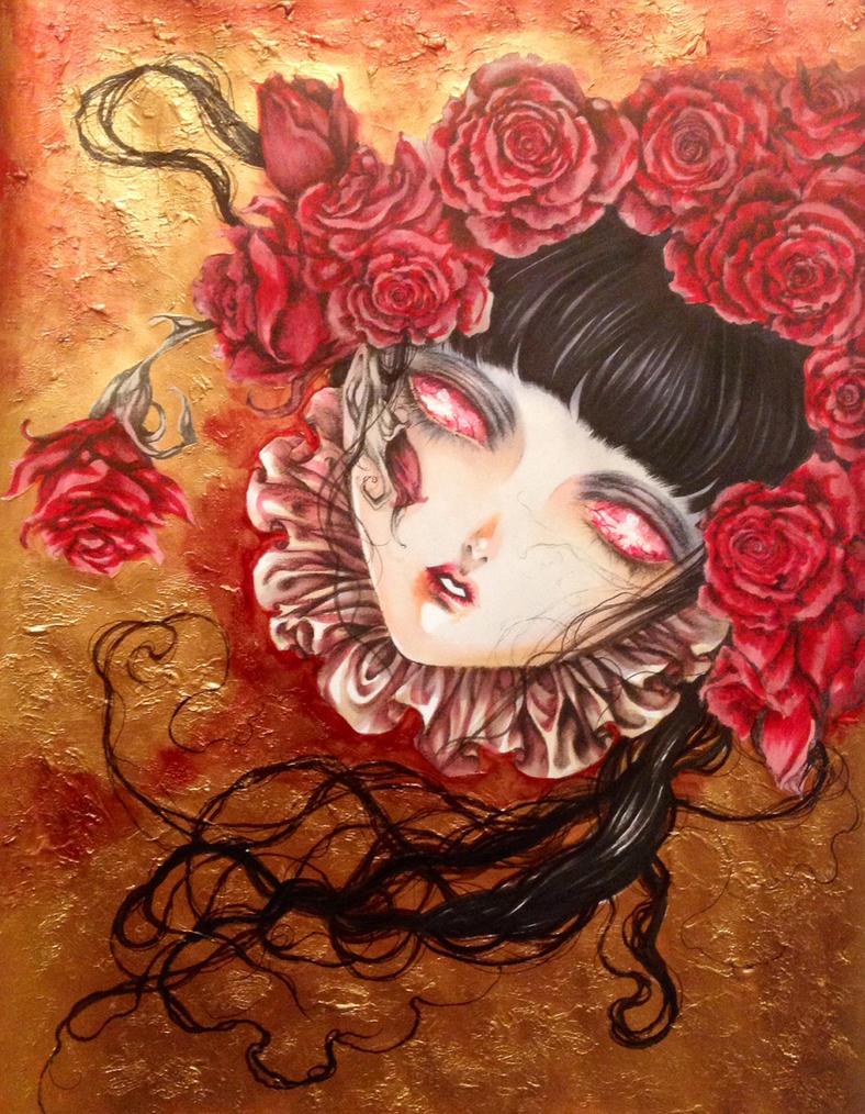 Head of Selenia by Giname