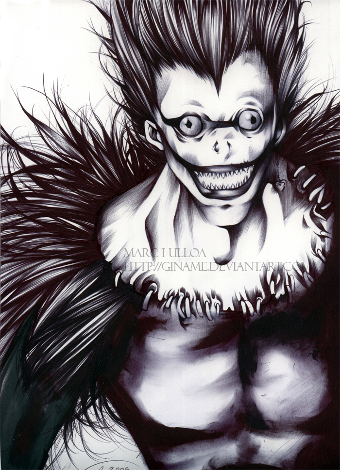 Death Note: Ryuk by Giname on DeviantArt
