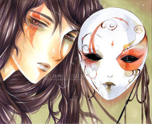 The Porcelain Mask by Giname