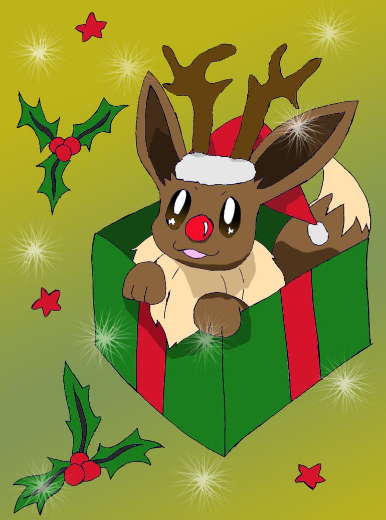 Eevee Pokemon Christmas Images | Pokemon Images