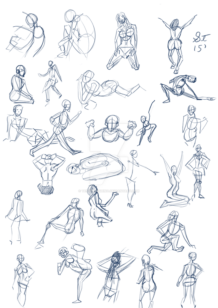 Gestures July 16 by TenshiHoshino