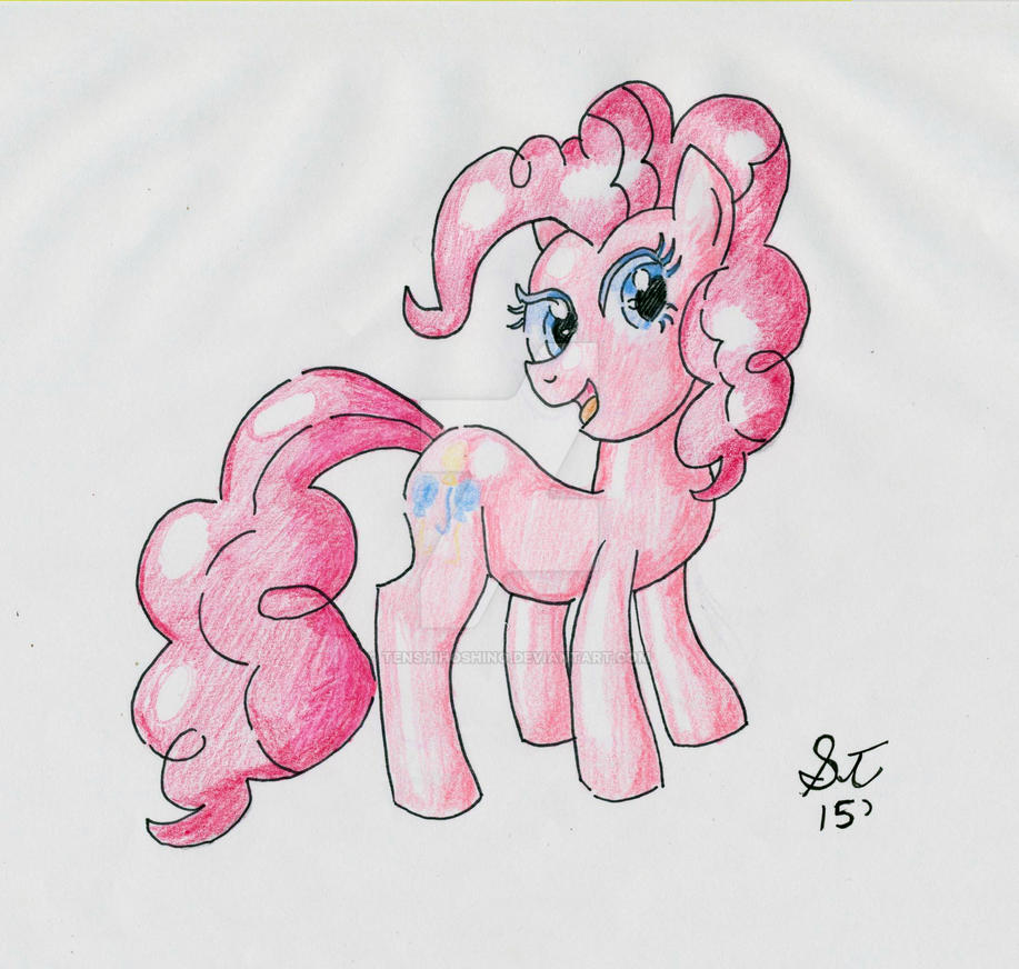 Pinkie Pie Traditional art by TenshiHoshino