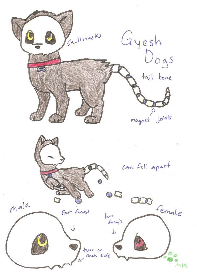 New Species: Gyesh Dog by fangs211 on DeviantArt