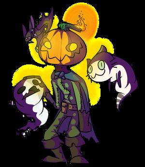 Mr. Pumpkin head
