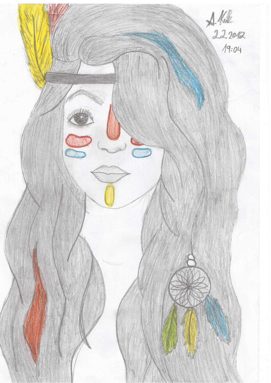 Uncategorized How To Draw An Indian Girl indian girl draw by me lovezayn on deviantart lovezayn