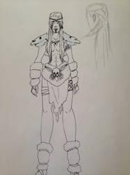 Giantess OC W.I.P by Shawntheimmortal94