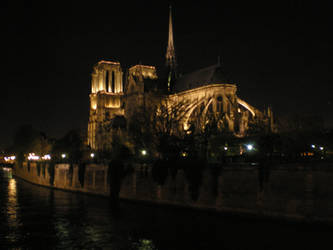 Notre-Dame, Paris by krokette