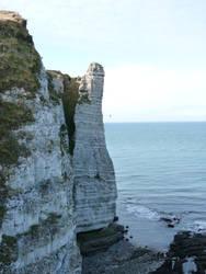 cliff by krokette