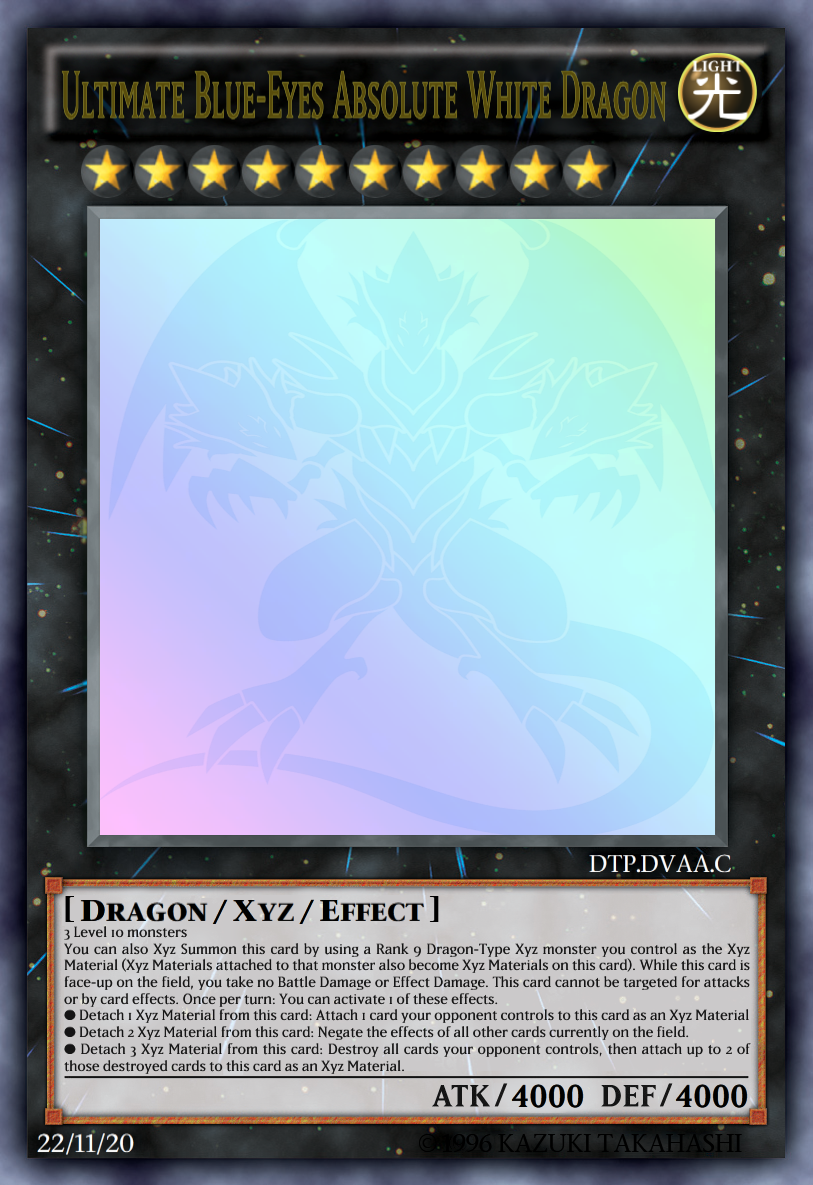 ultimate blue eyes absolute white dragon by daitranpro on deviantart
