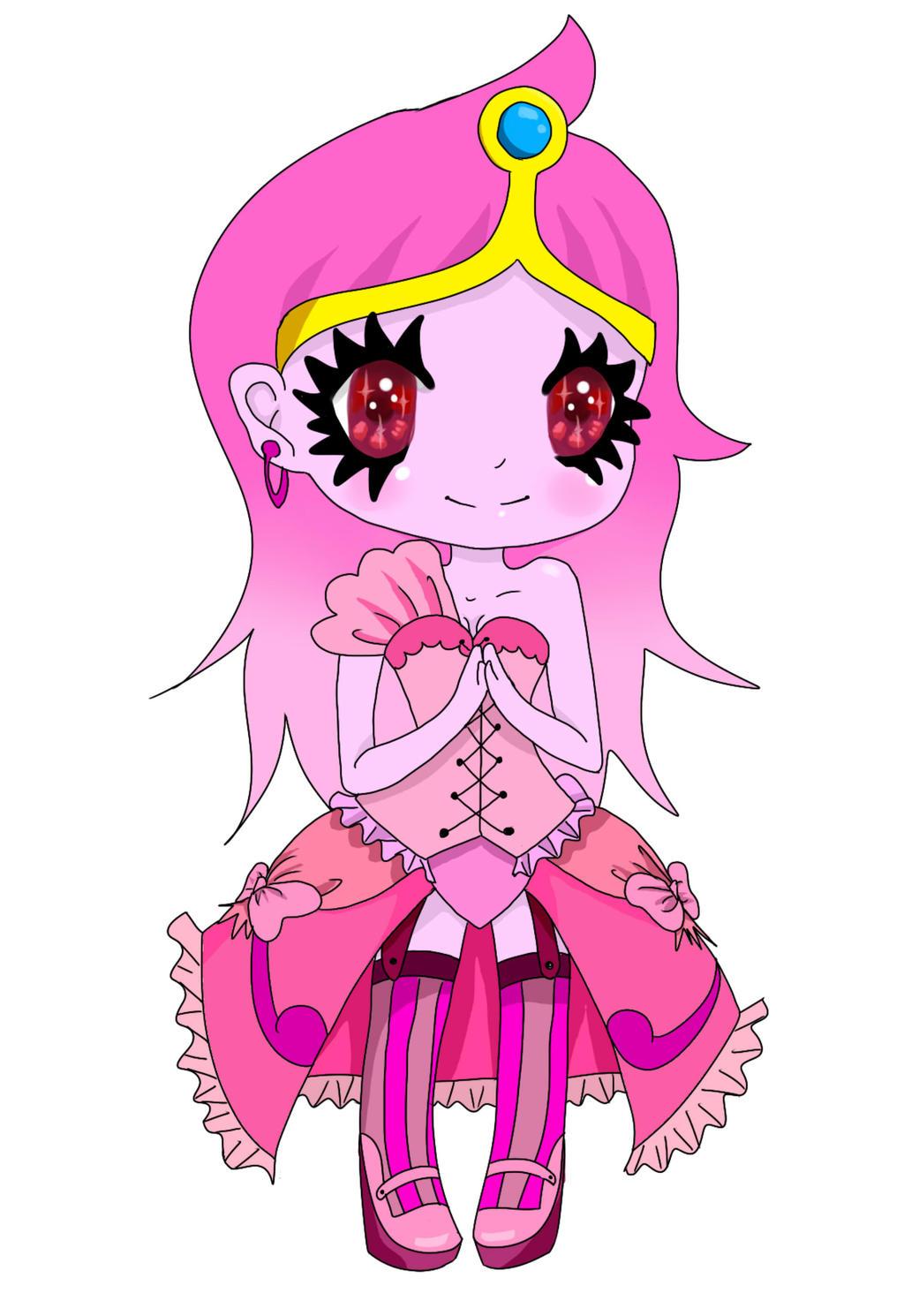 Chibi princess bubblegum