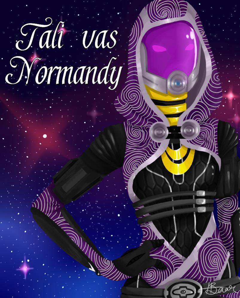 Tali vas Normandy by Snafufun