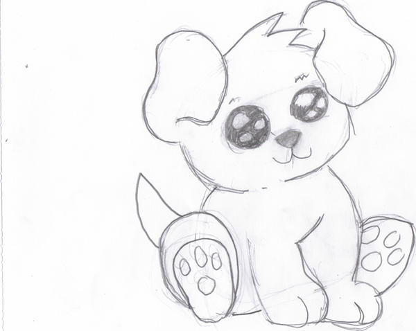 Cute dog drawings - photo#15