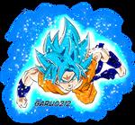 Son Goku SSGSS Blue Full aura