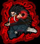 Kamba Evil Saiyan aura