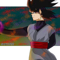 Black Goku  Day by garu0212