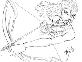 Avatar Fanart: Neytiri by SoniaMatas