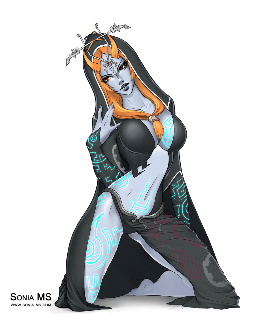 LOZ] Midna by Seuyan on DeviantArt