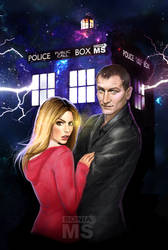 Doctor Who commission by SoniaMatas