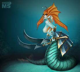 Commission: Naga Siren by SoniaMatas