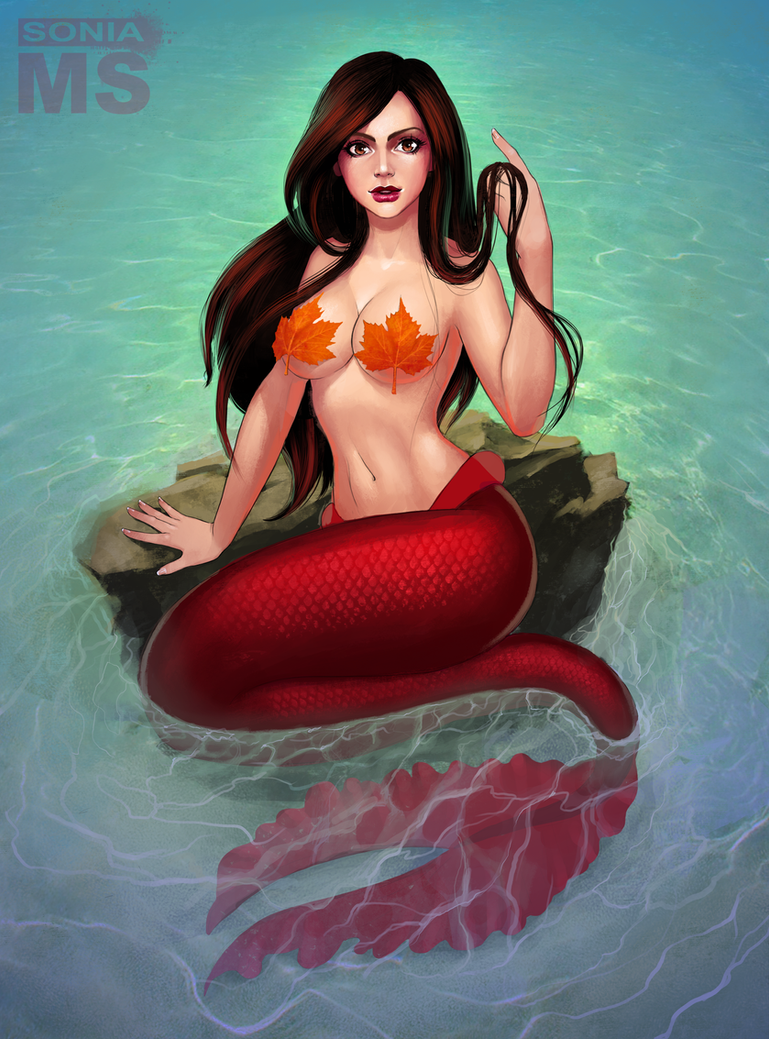 sexy-topless-mermaid-nude-female-arrest