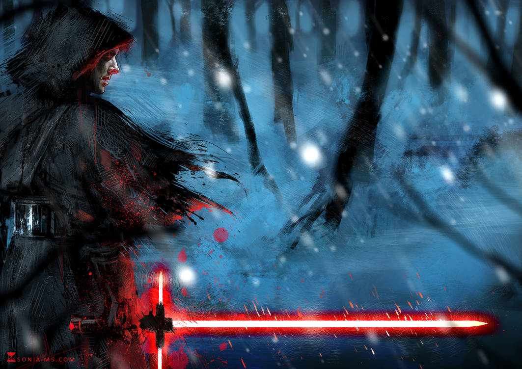 Star Wars: Benedict as a sith by SoniaMatas