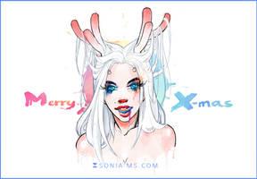 Merry Christmas by SoniaMatas