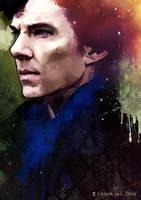 Sherlock Holmes - Mind Palace by SoniaMatas