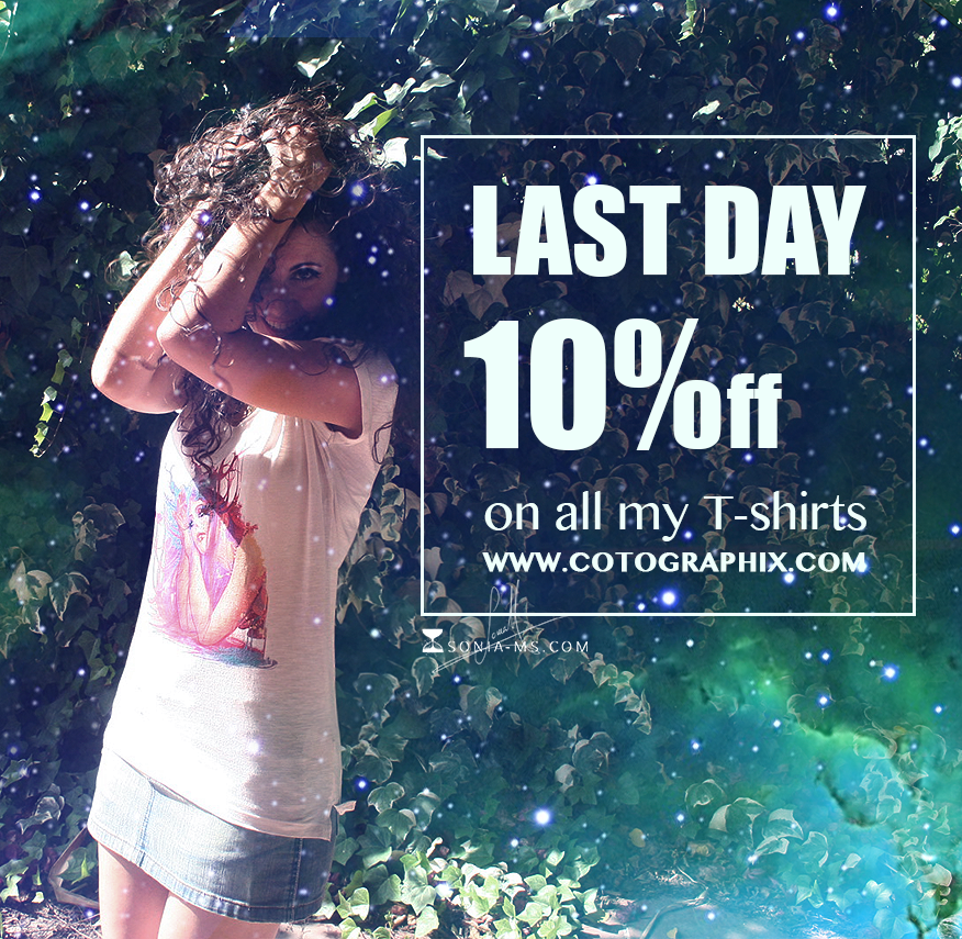 Cotographix shirts discount descuento promo2 by SoniaMatas