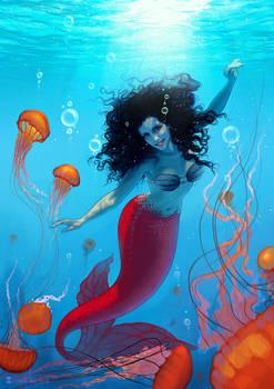 Commission: Me as mermaid 2