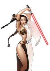 Princess Leia  by SoniaMatas