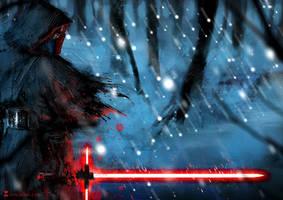 Star Wars Episode VII: Kylo Ren by SoniaMatas