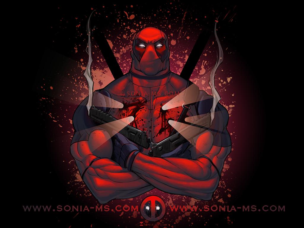 Deadpool WALLPAPER by SoniaMatas