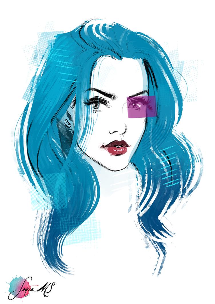 Alice sketch by SoniaMatas