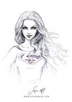 Supergirl ink by SoniaMatas