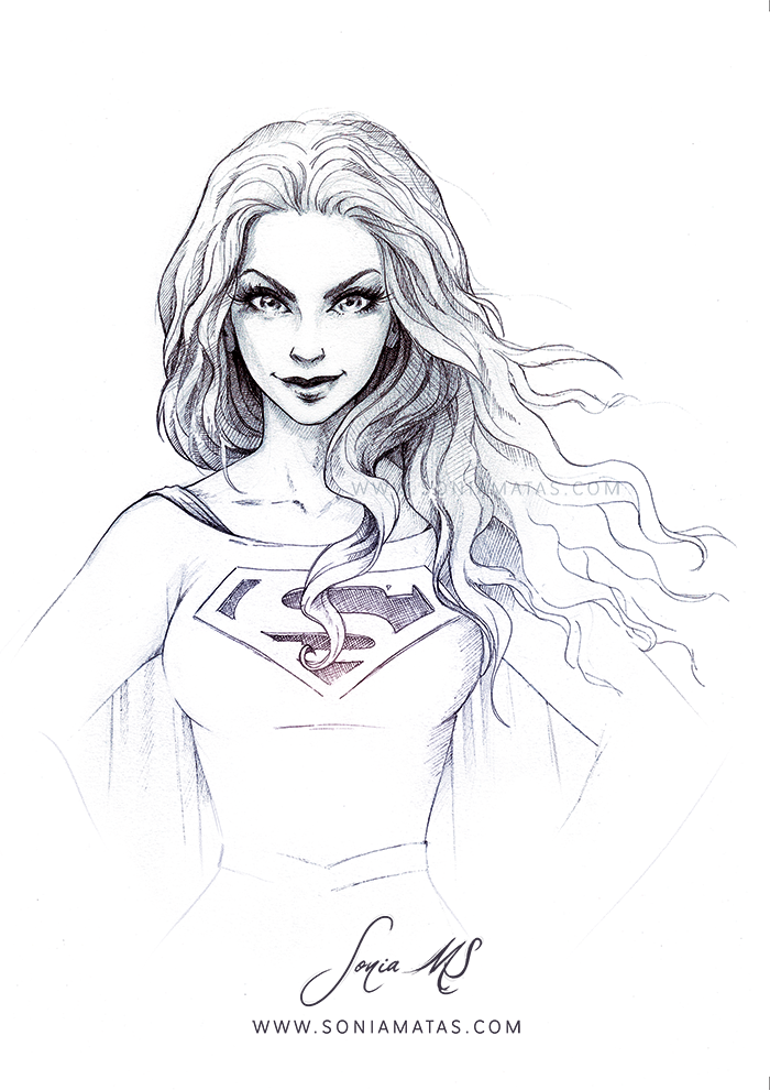 Supergirl ink by SoniaMatas