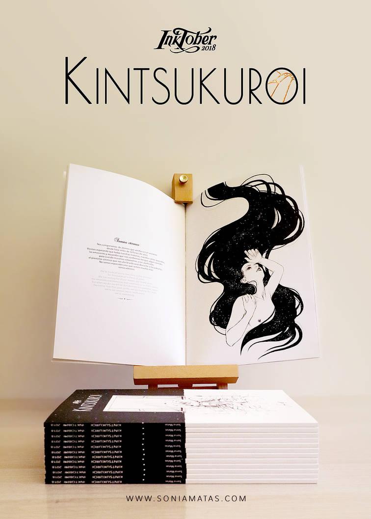 Kintsukuroi artbook by SoniaMatas
