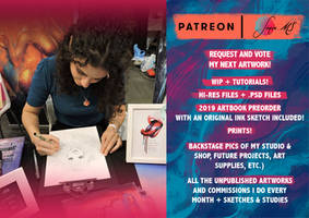 My patreon is LIVE!