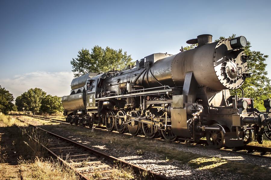Steam locomotive 555.3008 by sstando