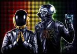 Wall of Fame No2 - Daft Punk