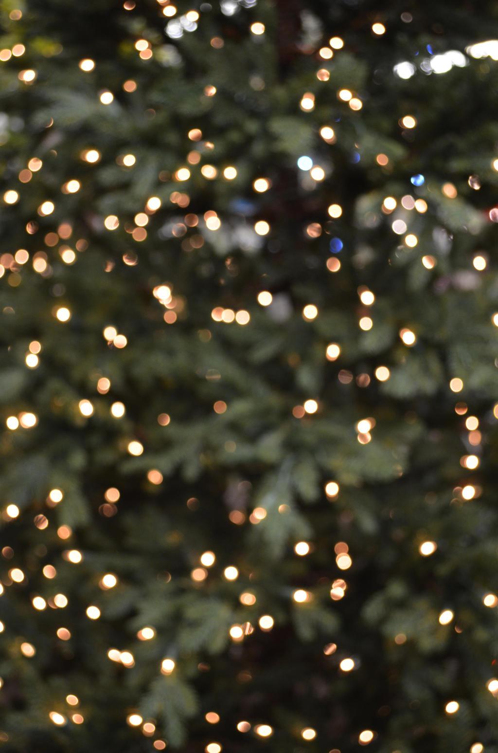 Christmas Bokeh 4 by RachgracehStock