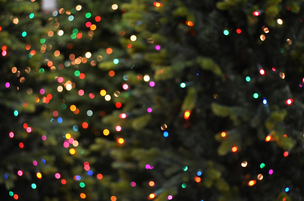 Christmas Bokeh 2 by RachgracehStock
