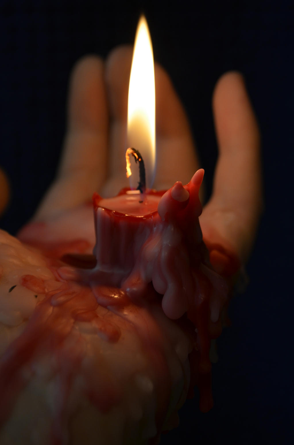 Drippy Candle 40 by RachgracehStock