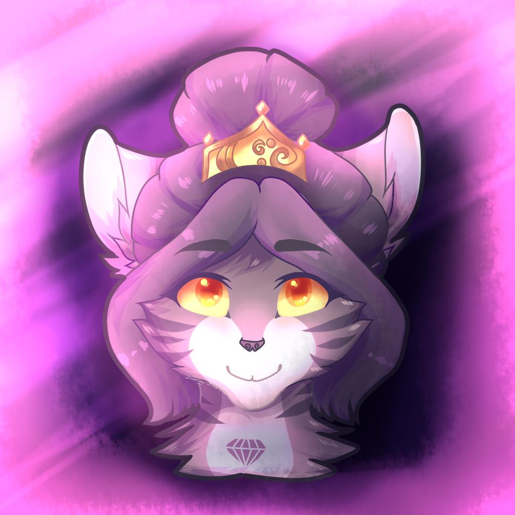Royal Fox - Sandra (OC) by Zharleste